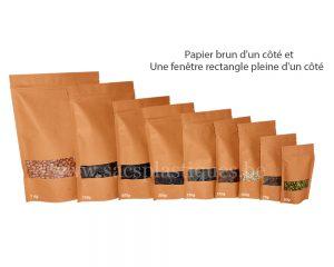 Sac en papier brun