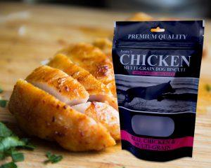 Emballage de poulet personnalisé