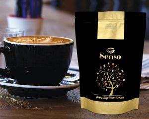 Pochettes de café