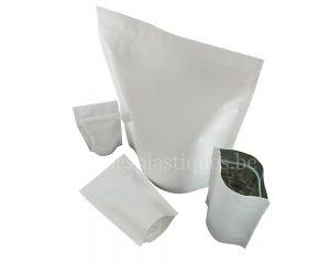 Sac de papier blanc
