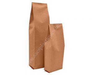 Sacs en papier à soufflets