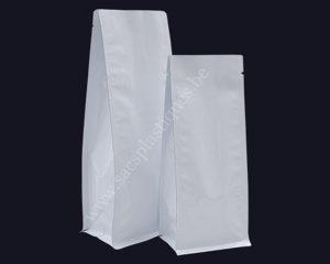 Sacs en papier blanc sans fermeture Eclair