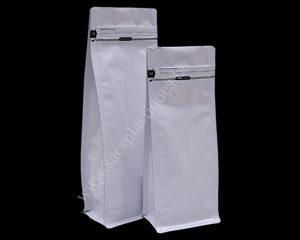 Papier Blanc avec slot d'ouverture zip