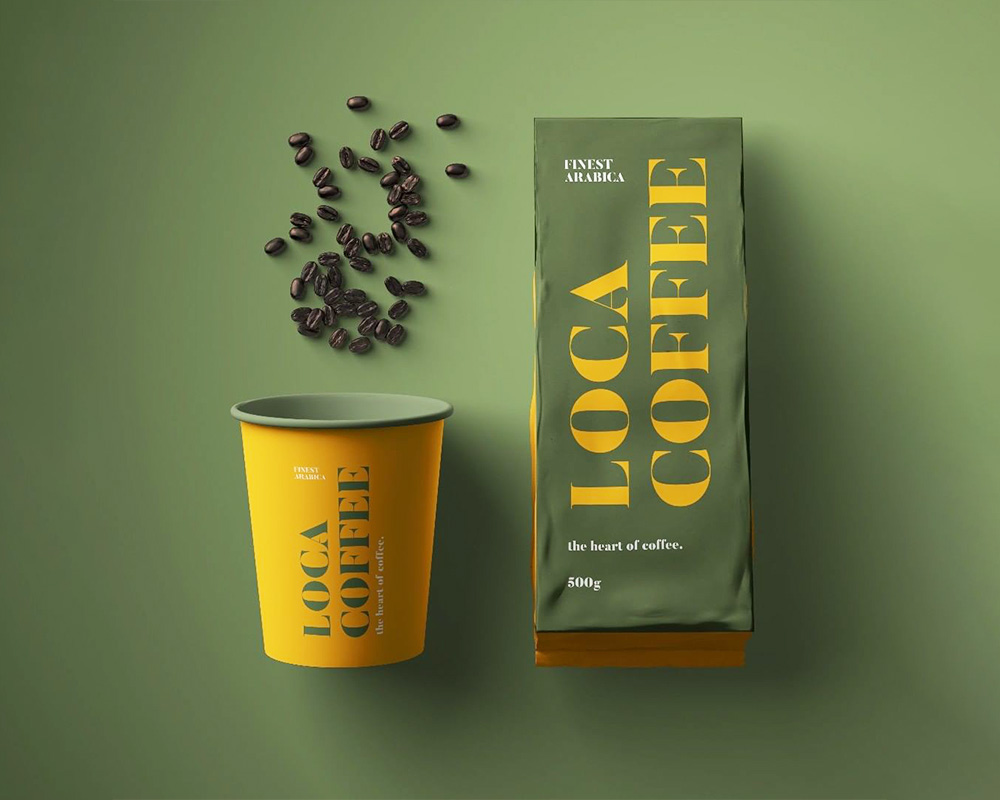 Emballage de café d'aluminium